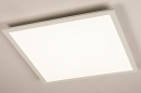 Plafondlamp 74234: modern, kunststof, metaal, wit #2