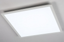 Plafondlamp 74234: modern, kunststof, metaal, wit #3