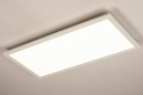 Plafondlamp 74235: modern, kunststof, metaal, wit #2