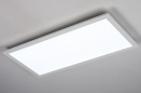 Plafondlamp 74235: modern, kunststof, metaal, wit #3