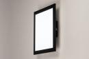 Plafondlamp 74236: modern, kunststof, metaal, zwart #11