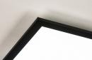 Plafondlamp 74236: modern, kunststof, metaal, zwart #8