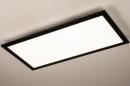 Plafondlamp 74238: modern, kunststof, metaal, zwart #2