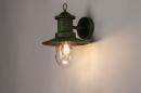 Buitenlamp 74241: landelijk, rustiek, eigentijds klassiek, metaal #2