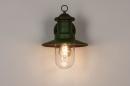 Buitenlamp 74241: landelijk, rustiek, eigentijds klassiek, metaal #5