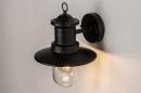 Buitenlamp 74242: landelijk, rustiek, eigentijds klassiek, metaal #4