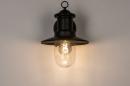 Buitenlamp 74242: landelijk, rustiek, eigentijds klassiek, metaal #5