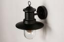 Buitenlamp 74242: landelijk, rustiek, eigentijds klassiek, metaal #6