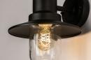 Buitenlamp 74242: landelijk, rustiek, eigentijds klassiek, metaal #7