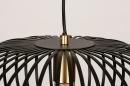 Hanglamp 74244: modern, retro, metaal, zwart #11