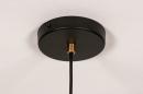 Hanglamp 74244: modern, retro, metaal, zwart #12