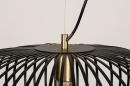Hanglamp 74245: modern, retro, metaal, zwart #10