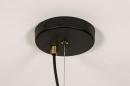 Hanglamp 74245: modern, retro, metaal, zwart #11
