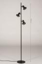 Vloerlamp 74249: modern, retro, eigentijds klassiek, art deco #1
