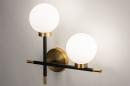 Wandlamp 74256: modern, eigentijds klassiek, art deco, glas #4