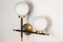 Wandlamp 74256: modern, eigentijds klassiek, art deco, glas #8