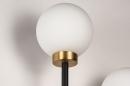Wandlamp 74256: modern, eigentijds klassiek, art deco, glas #9