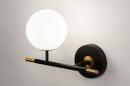 Wandlamp 74257: modern, retro, eigentijds klassiek, glas #4
