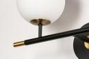 Wandlamp 74257: modern, retro, eigentijds klassiek, glas #7