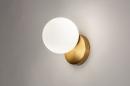 Wandlamp 74258: modern, eigentijds klassiek, art deco, glas #2