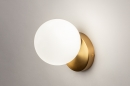 Wandlamp 74258: modern, eigentijds klassiek, art deco, glas #4