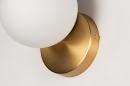 Wandlamp 74258: modern, eigentijds klassiek, art deco, glas #7