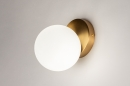 Wandlamp 74258: modern, eigentijds klassiek, art deco, glas #8