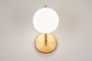 Wandlamp 74259: modern, klassiek, eigentijds klassiek, art deco #4