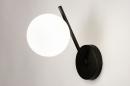 Wandlamp 74260: modern, klassiek, eigentijds klassiek, glas #2