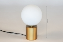 Tafellamp 74261: modern, klassiek, eigentijds klassiek, art deco #1