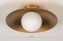 Plafondlamp 74265: design, modern, klassiek, eigentijds klassiek #1