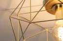 Plafondlamp 74270: modern, eigentijds klassiek, messing, metaal #6