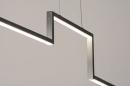 Hanglamp 74275: design, modern, geschuurd aluminium, aluminium #5
