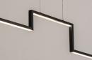 Hanglamp 74276: design, modern, aluminium, zwart #5