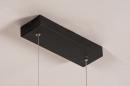 Hanglamp 74276: design, modern, aluminium, zwart #6