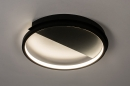 Plafondlamp 74277: design, modern, kunststof, metaal #2