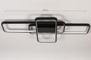 Plafondlamp 74278: design, modern, kunststof, metaal #1