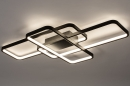 Plafondlamp 74278: design, modern, kunststof, metaal #2