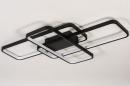 Plafondlamp 74278: design, modern, kunststof, metaal #3