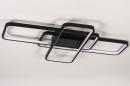 Plafondlamp 74278: design, modern, kunststof, metaal #6