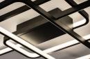 Plafondlamp 74278: design, modern, kunststof, metaal #7