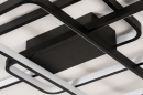 Plafondlamp 74278: design, modern, kunststof, metaal #8