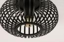 Plafondlamp 74281: modern, retro, metaal, zwart #5