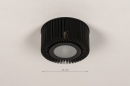 Plafondlamp 74284: industrie, look, design, modern #1
