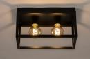 Plafondlamp 74287: industrie, look, landelijk, rustiek #2