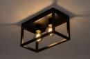 Plafondlamp 74287: industrie, look, landelijk, rustiek #3
