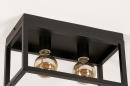 Plafondlamp 74287: industrie, look, landelijk, rustiek #6