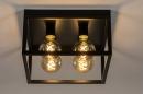 Plafondlamp 74288: industrie, look, landelijk, rustiek #2