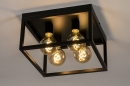 Plafondlamp 74288: industrie, look, landelijk, rustiek #4