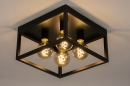 Plafondlamp 74288: industrie, look, landelijk, rustiek #5